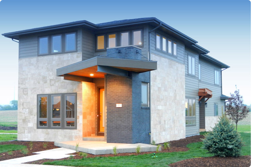 Madison for Contemporary home builders wisconsin